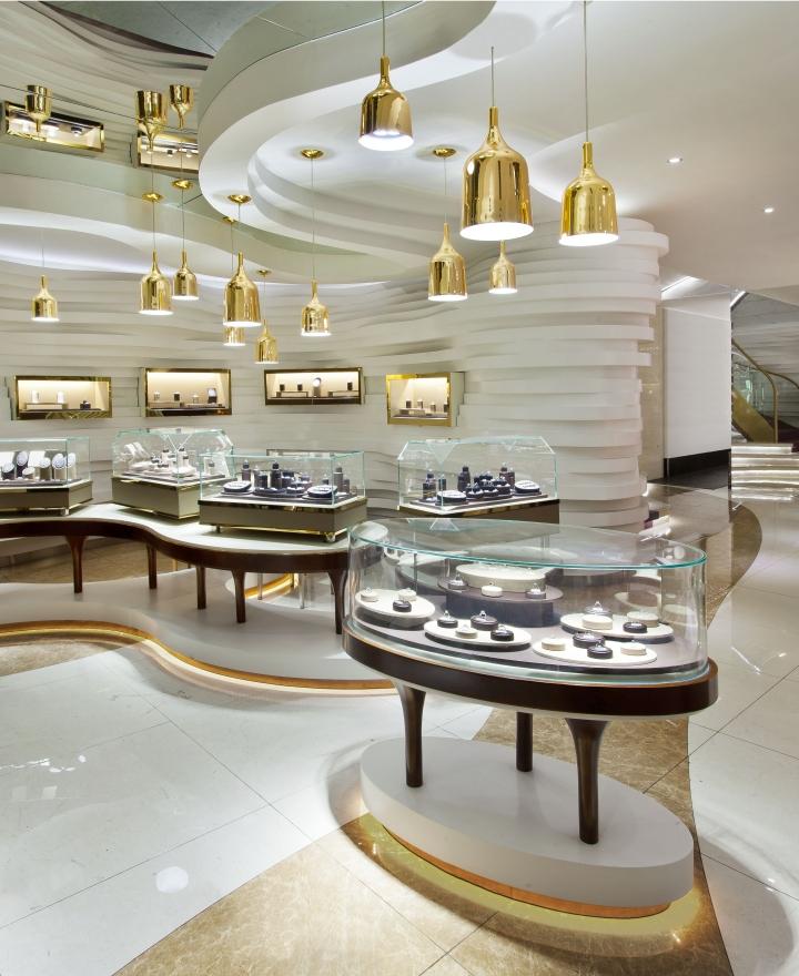 珠宝展柜设计制作