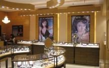 珠宝展柜颜色以及应用场所