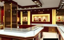 保持珠宝展柜表面涂料长久不变色的办法。