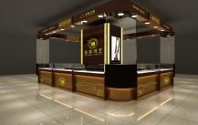 高档珠宝店对选择不锈钢珠宝展柜情有独钟!