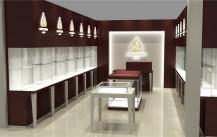 在西藏拉萨可以找你们工厂做珠宝展示柜吗?