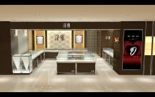 中式古典风格的珠宝展柜是怎么制作而成的?哪里可以定做到?