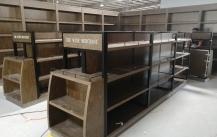 发往澳洲的红酒展示柜制作完成_深圳凡路展柜厂