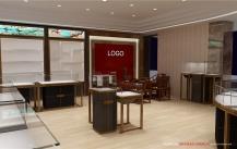 珠宝展柜整店输出,一体化商业空间整体定制