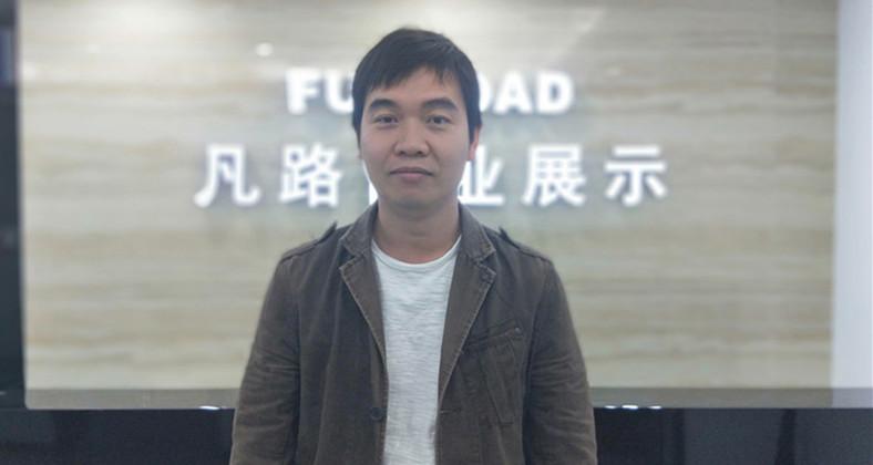 深圳凡路珠宝展示柜台设计师