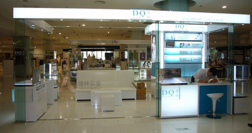 Design renderings of Hong Kong's weistia brand shop