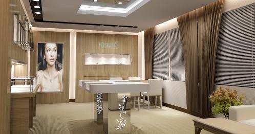哈尔滨远大购物商场珠宝展柜客户!