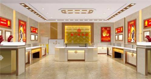 珠宝店整套展示柜台设计需要多少钱?