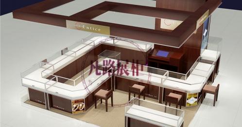 广州珠宝展柜定做需要多少钱?