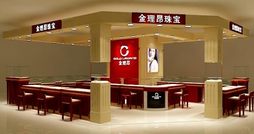 金理昂珠宝展厅设计效果图