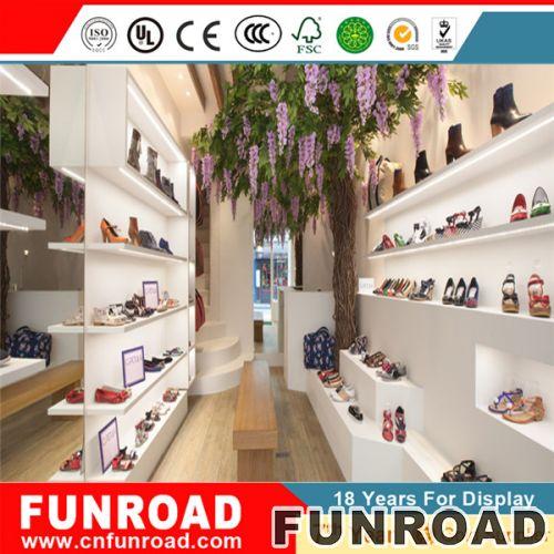 时尚亚克力鞋子展示柜厂价直销