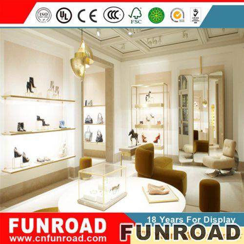 设计鞋展示柜,玻璃鞋柜,鞋店室内设计