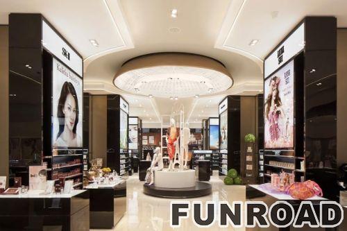 时尚新设计的化妆品展示柜