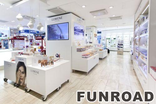 批发mac零售设计化妆品展示柜台