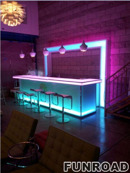 深圳展柜厂定做酒吧吧台柜定制解决方案