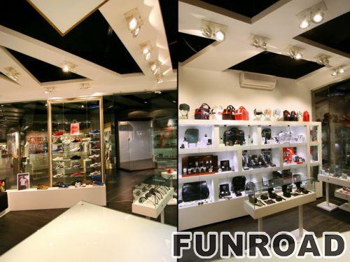 品牌鞋子零售店室内设计