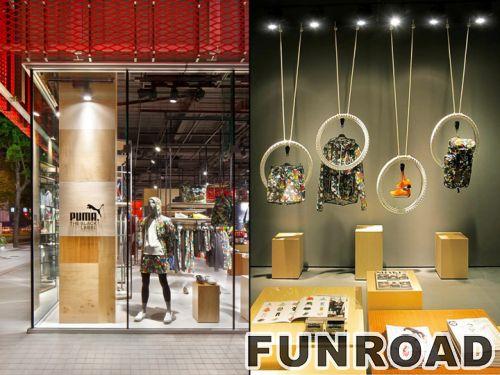 木质鞋子展示柜帽子/衣服木质架子服装店展示架