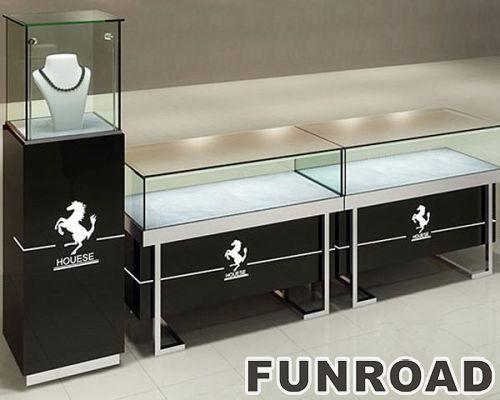 珠宝柜台设计,玻璃柜台制作