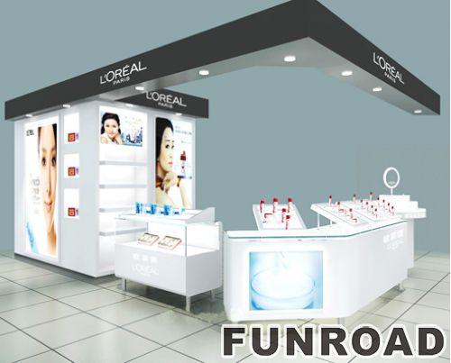 专用化妆品香水玻璃陈列柜展示柜