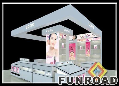 现代玻璃丙烯酸化妆品展柜和陈列柜
