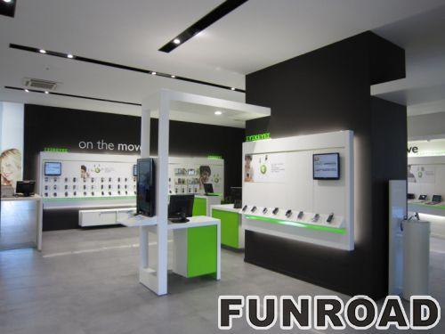 手机体验店设计,体验柜台台制作