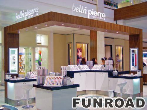 商场化妆品售货展柜