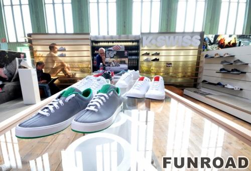 独特的运动鞋展示柜设计和运动鞋零售店设计