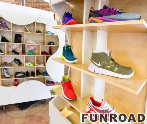 品牌运动鞋精品独立展示架