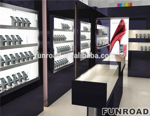 高品质零售商店固定电话商店显示柜