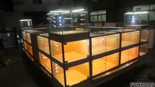 商场珠宝展示亭