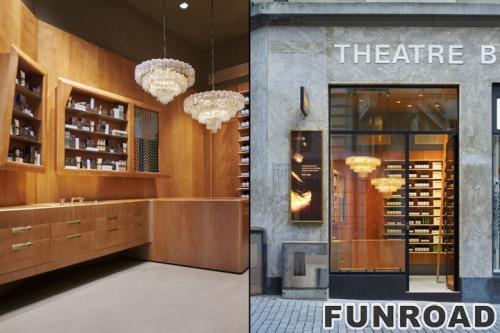 迷人的购物中心化妆品展示柜/化妆品展示柜