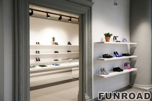 女鞋2017款鞋店展示柜台设计制作