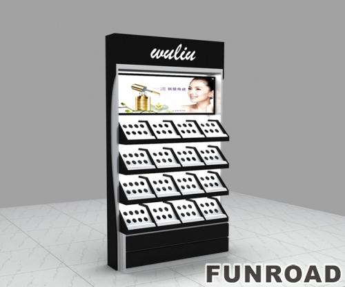 出厂价化妆品架展示架/商店货架展示化妆品/展示架