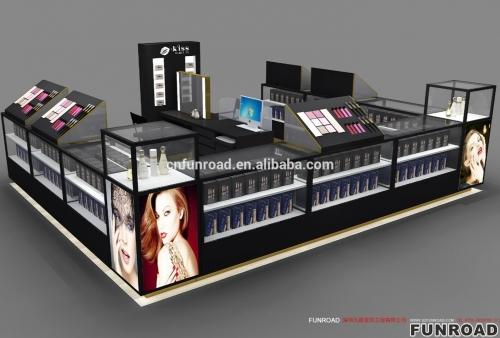 工厂直销化妆品展示柜专业设计商场中岛柜
