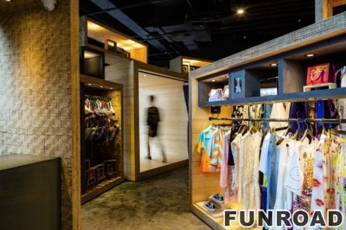 品牌服装连锁店优质零售店古典展柜设计