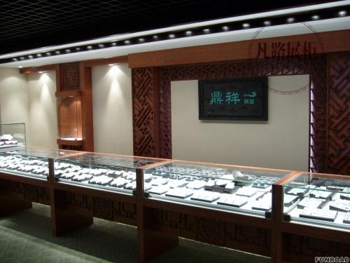 定制高端木质玉器展柜,凡路十五年展柜经验