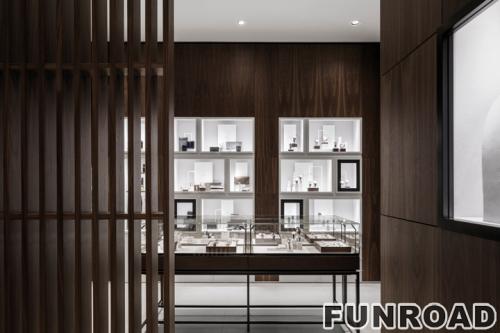 深圳珠宝展柜制作厂家,制作高端珠宝展示柜