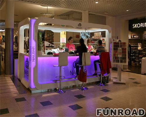 凡路展柜定制的热销售二手美甲沙龙家具