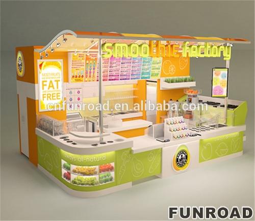 步行街糖果屋展示柜定制设计效果图