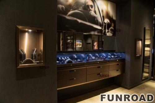 工艺艺术风格的展柜-珠宝展柜
