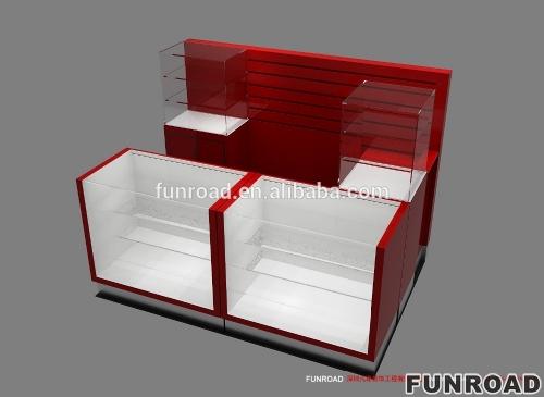 钢化玻璃手机展示柜陈列柜