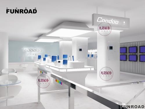 FRED-94181手机店展柜设计制作案例