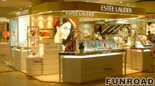 化妆品中岛柜制作案例
