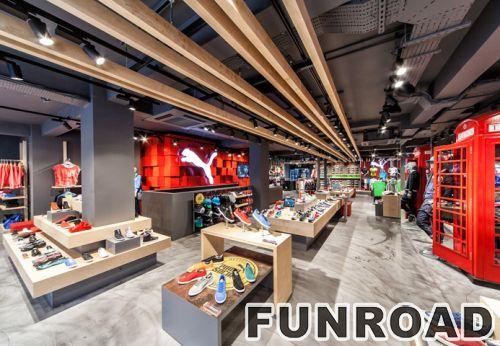 顶级供应商服装店展柜服装店展柜设计定制手袋展示柜