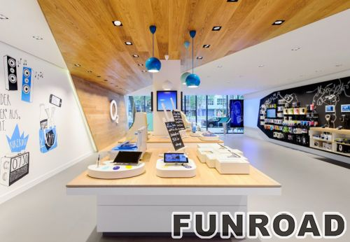 Mobile Phone Concept Store Interior Designs Unique Display  Counters/cabinets/showcases ...