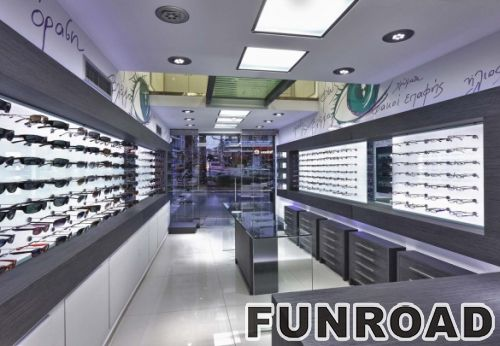 Douloufakis Optical Store Shop Furniture Garment Display Modern