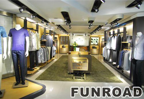 购物中心高端服装零售展示柜设计