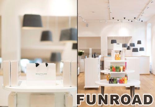 定制设计新现代零售化妆品展示柜