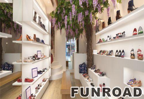 工厂价Lucite集装箱鞋存储零售店橱柜展示柜亚克力鞋展示