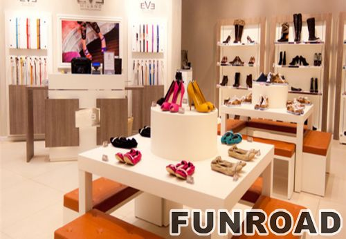 中国生产销售高品质塑料鞋展示柜